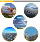 150W TUV / CE / MKS / IEC zugelassen Monokristalline Solarmodul