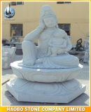 Estátua de pedra de Guanyin Escultura de Buda