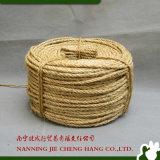 corda di Manila della cordicella del sisal della corda del sisal 3ply di 6-10mm