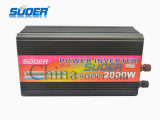 Suoer Power Inverter 2000W Solar Power Inverter 24V a 220V Onda di seno modificata Power Inverter con caricatore per uso domestico (HDA-2000B)