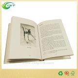 Impresión mate del papel de la parte posterior dura del libro con la tinta negra (CKT-NB-415)