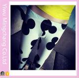 Qualitäts-elastisches Material gedrucktes Mickey Legging