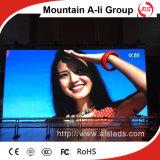 Bildschirm LED-Bildschirmanzeige der hohen Helligkeits-im Freien P6 SMD LED