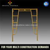 Materiales de construcción de escalera American Standard apuntalamiento Andamio Marco