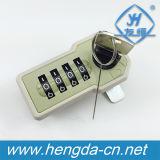 가구 콤비네이션 자물쇠 플라스틱 패스워드 내각 자물쇠 (YH9038)