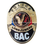 BackのRemovable Coin ClipのBac Police Badge