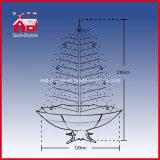 Decoração nevando de venda quente do Natal do presente do ofício da árvore de Natal
