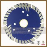 de Scherpe Schijf van de Diamant van 230mm voor de Tegel van Mansory van de Molen van de Woede (sy-CD)