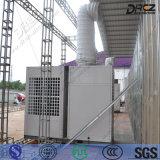 Assoalho que está o condicionamento de ar central vertical do duto do equipamento do condicionador de ar