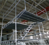 Système d'échafaudage de blocage de boucle certifié par GV pour la construction