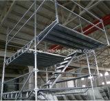 Аттестованная SGS безопасная система лесов замка кольца для здания