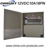 CCTV Power Distribution Box di 12VDC 10AMP 18CH con Ce (12VDC10A18PN)