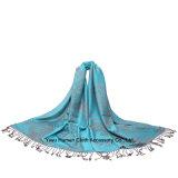 Mantón vendedor caliente de la bufanda del telar jacquar de la manera de los Multi-Colores