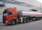 44000 L Kraftstoff-Tanker-Förderwagen-Schlussteil, der preiswerteste Öltank-halb Schlussteil