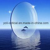 lentilles optiques sphériques de 75mm UV400 1.60mr-8 Hmc avec Superbe-Hydrophobe