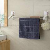Barra de toalha sanitária do banheiro do copo da sução do vácuo do ar com resistente