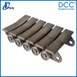 Attachment를 가진 기술설계 Forged Drive Conveyor Chain