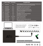 Nouveau 90W Adaptateur universel pour ordinateur portable Alimentation PC pour Lenovo, Asus