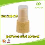 Gewellte Plastikspray-Pumpe des falz-18 415 für persönliche Sorgfalt