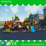 De hete Verkopende Apparatuur van de Speelplaats van het Spel van Jonge geitjes Vastgestelde Plastic Openlucht (KP13-113)