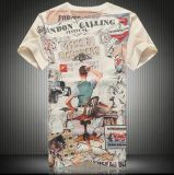 T-shirts d'impression de sublimation/T-shirts impression de sublimation/T-shirts estampés par sublimation