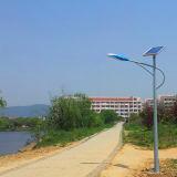 Indicatore luminoso di via solare Integrated esterno diplomato IP65 personalizzato del sensore di movimento 6W-100W di RoHS del CE di iso contabilità elettromagnetica del LED