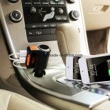 Bc09 Bluetooth manos libres kit de coche con encendedor de cigarrillos Dos puertos USB