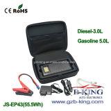 新しい到着の高品質15000mAh携帯用車のジャンプの始動機(JS-EP43)