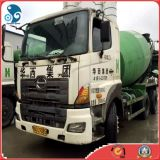 Low~Working~Hours usou o caminhão de mistura de Hino 700 Concrete~Mixer Cement~Transit (2009~2012year)