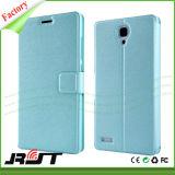 Cassa staccabile del telefono delle cellule del cuoio del basamento della parte posteriore del foglio per Xiaomi Redmi Note3 (RJT-0102)