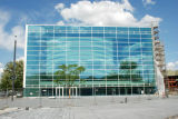 Parete divisoria di vetro bassa moderna dei sistemi Frameless E della scaletta
