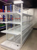 金網の冷たい鋼鉄スーパーマーケットの棚付けの記憶装置の表示棚