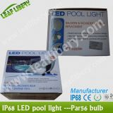 DC12V IP68 &#160 ; Lumière contrôlable de piscine d'IP68 LED PAR56 Light/DMX512 LED PAR56