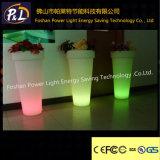 /Garden 가정 훈장 다채로운 플라스틱 LED 화분