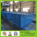 Saut/casier de déchets/acier/poussière avec la porte