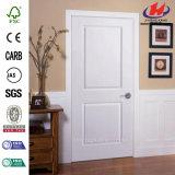 квадратная Pre-Повиснутая дверь твердой древесины 2-Panel