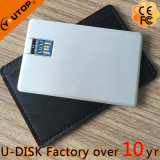 16GB/32GB/64GB USB 3.0 Metal USB Bussiness Card met Real Capacity (yt-3101-03)