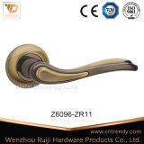 Maneta palanca de la puerta de la aleación del cinc del color del café de la estera (Z6311-ZR09)