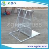 Cable Cross를 가진 Event Protect Barrier를 위한 알루미늄 Crowd Folding Barriers