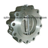 러그 Type (둥근) Double Disc Swing Check Valve