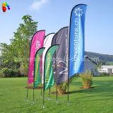 Напольное летание рекламируя флаг пера полиэфира, флаг пляжа Teardrop (BL-FFB3P)