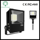 Outdoor IP65 Low Luminous Decay Philips SMD LED Floodlight com TUV, UL, ETL, SAA, Ce, RoHS Cerificate