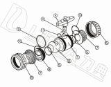Valvola di regolazione pneumatica della sfera di modo di prezzi all'ingrosso UPVC 2