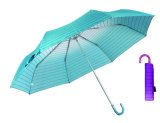 Strip Rainbow Compact Aluminium Light Umbrella (YS-3FM21083949R)