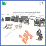 枕形のチューインガムラインチューインガムの生産工場