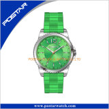 Reloj digital unisex de acero inoxidable de color puro