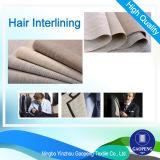 Interlínea cabello durante traje / chaqueta / Uniforme / Textudo / tejida P-White