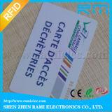 cartão branco do espaço em branco do smart card de 125kHz RFID para o controle de acesso