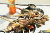 Campeggio cucinando il BBQ Integrated del fornello dei POT