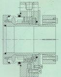 Selo mecânico para a indústria de alumínio (Hz3)